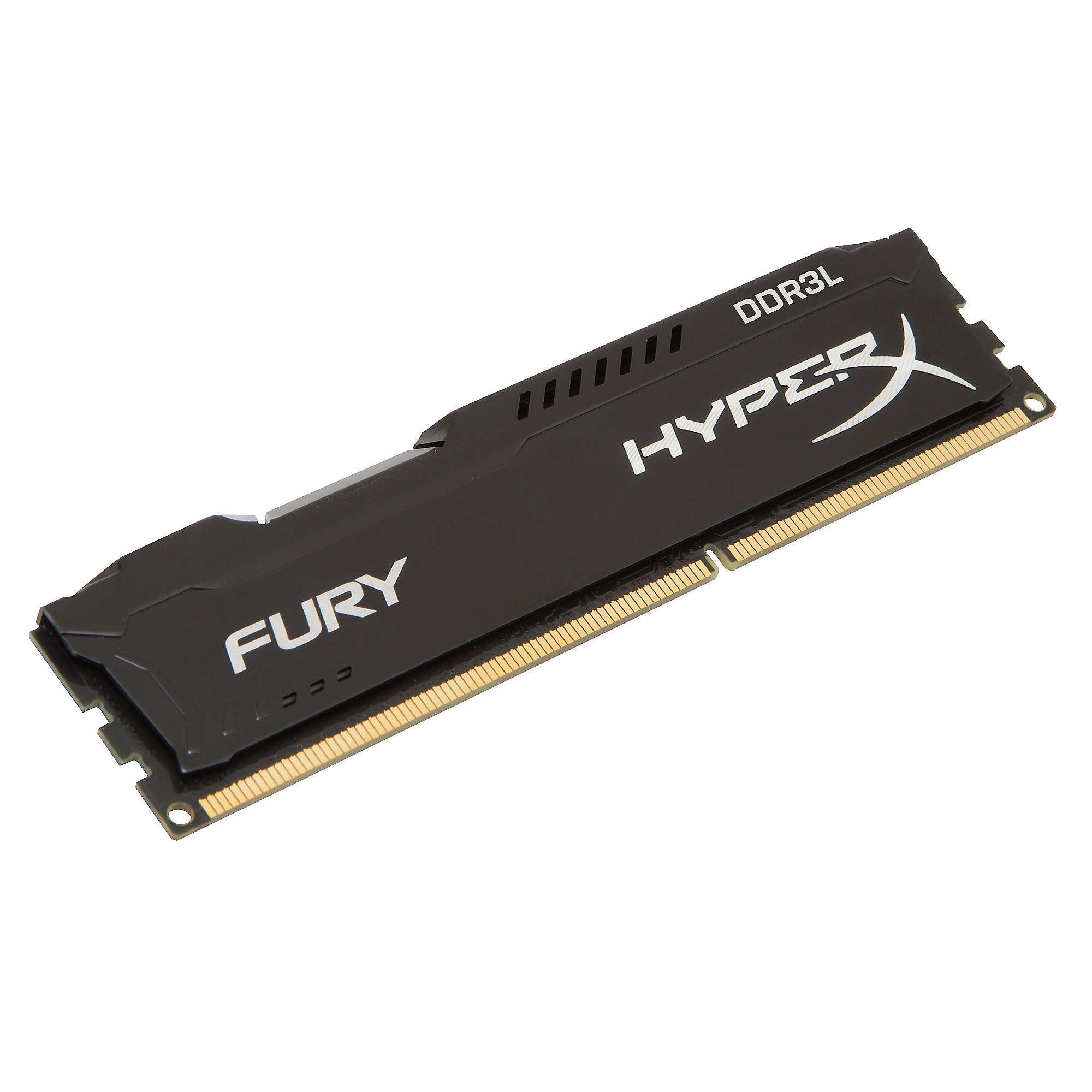 8GB (2x4GB) HyperX Fury schwarz DDR3L-1600 CL10 RAM Kit Low Voltage