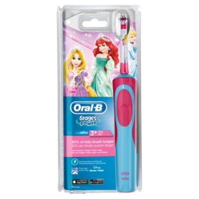 Oral-B  Stages Power Princess Elektrische Zahnbürste für Kinder ab 3 Jahren | 4210201128526