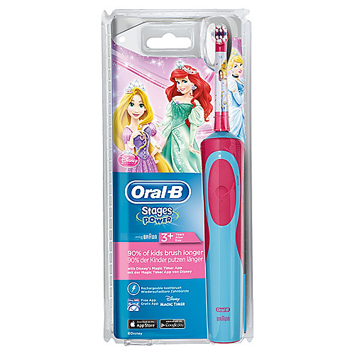 Braun Oral-B Stages Power Kids Princess Elektrische Zahnbürste