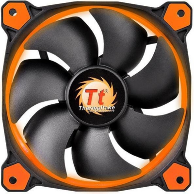 Thermaltake  Riing 14 LED orange Gehäuselüfter 140x140x25mm 1000/1400upm | 4717964401946
