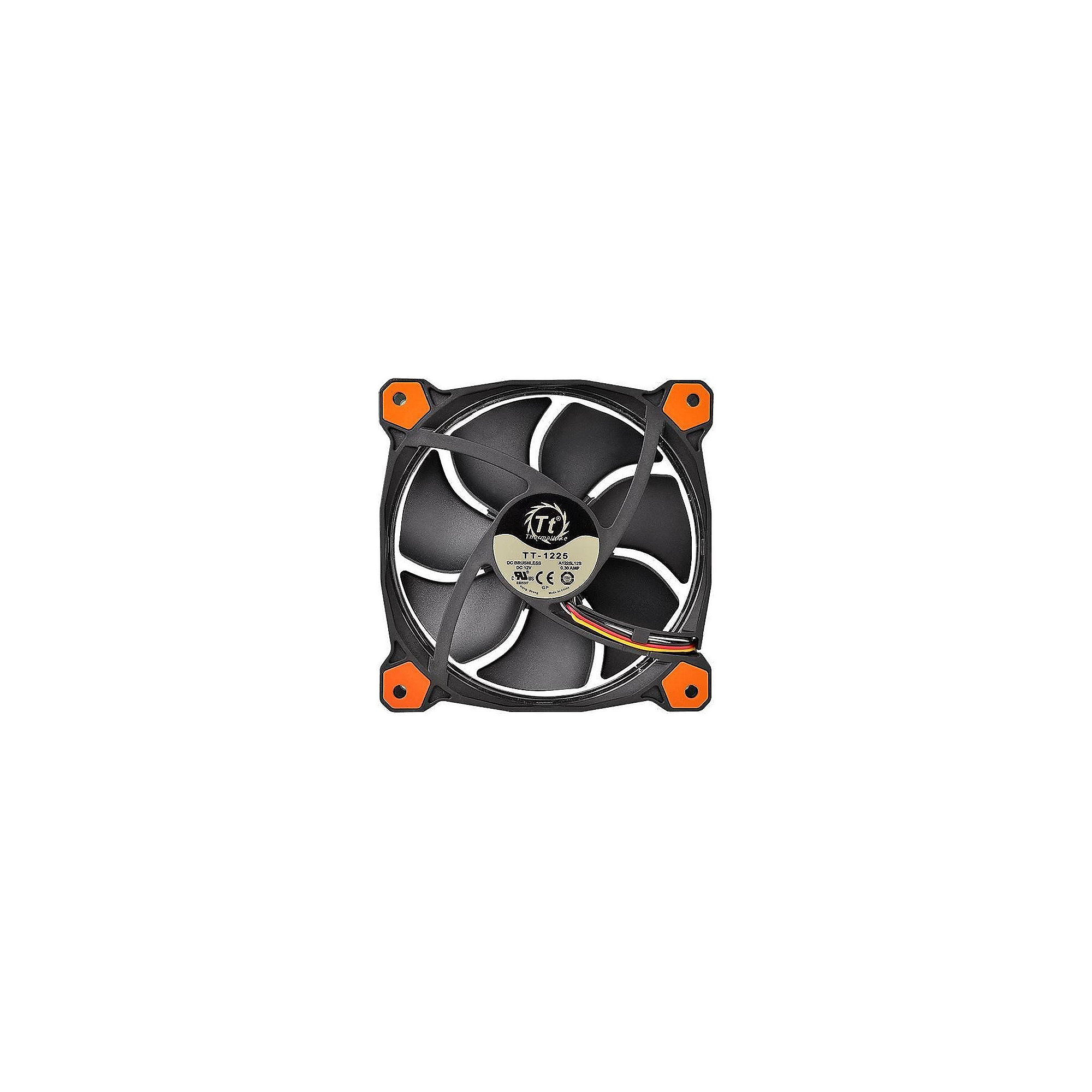 Thermaltake Riing 14 LED orange Gehäuselüfter 140x140x25mm 1000/1400upm