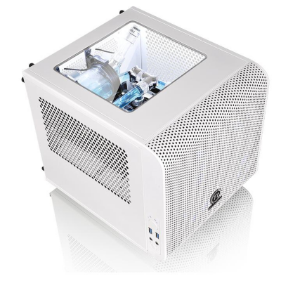 Thermaltake  Core V1 Snow Mini-Tower  Mini-ITX Gehäuse  (o.NT.) | 4717964402523