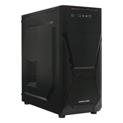 Cooltek  CT X5 Midi Tower ATX Gehäuse schwarz USB3.0 | 4250140356857
