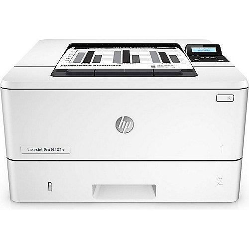 HP LaserJet Pro 400 M402n S/W-Laserdrucker LAN ...