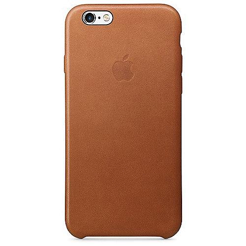 Apple Original iPhone 6s Leder Case-Sattelbraun