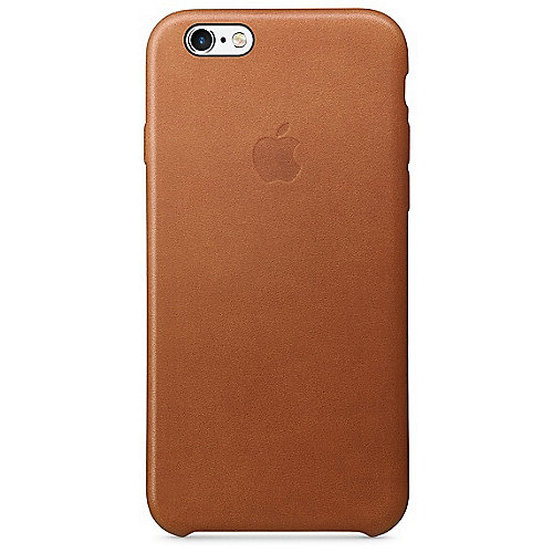 Apple Original Backcover für iPhone 6s Sattelbrown Leather