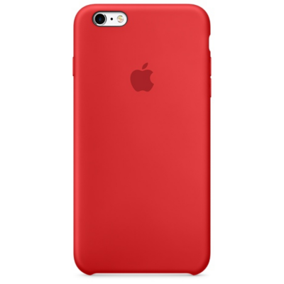 Apple Original iPhone 6s Silikon Case (PRODUCT)Rot