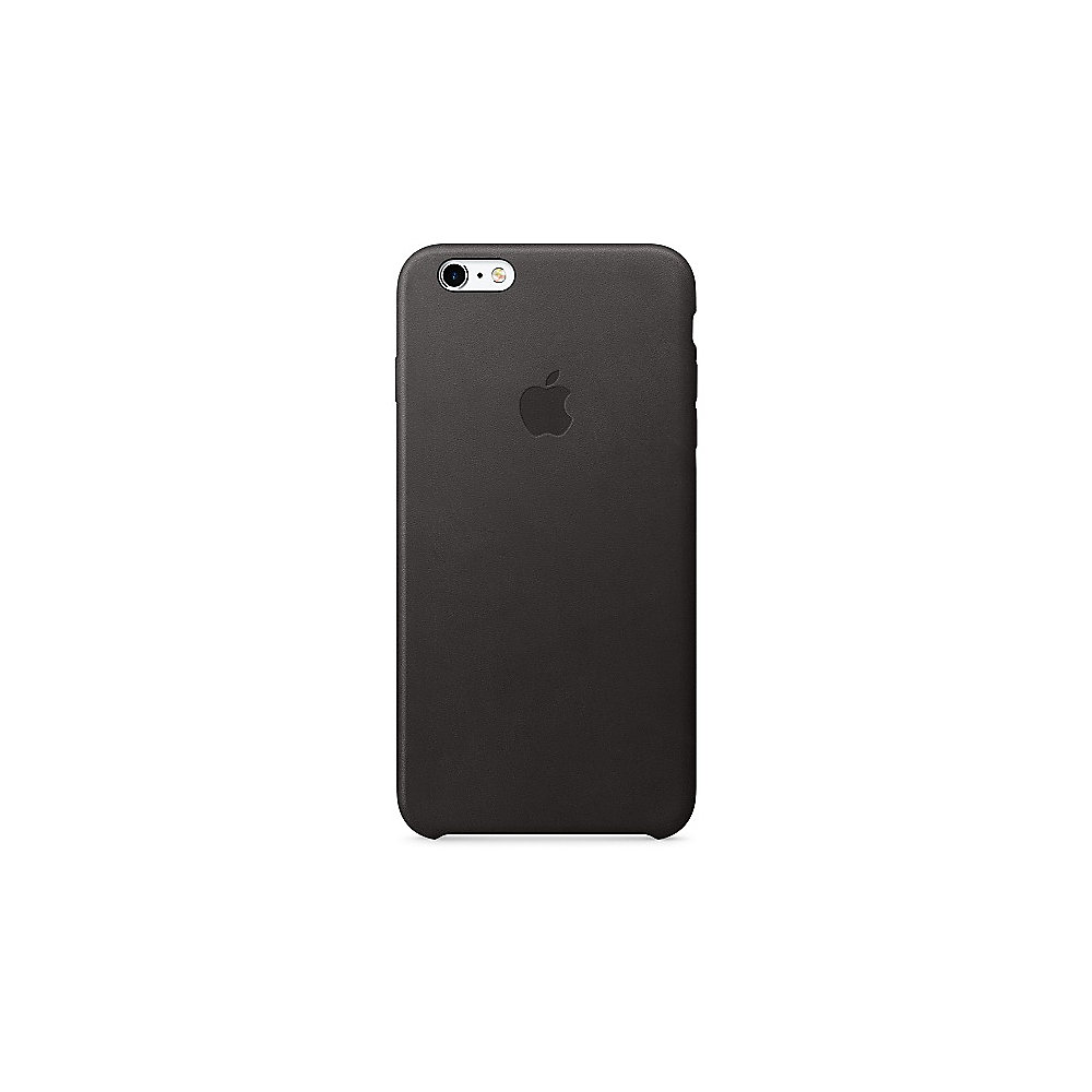 Apple Original iPhone 6s plus Leder Case-Schwarz
