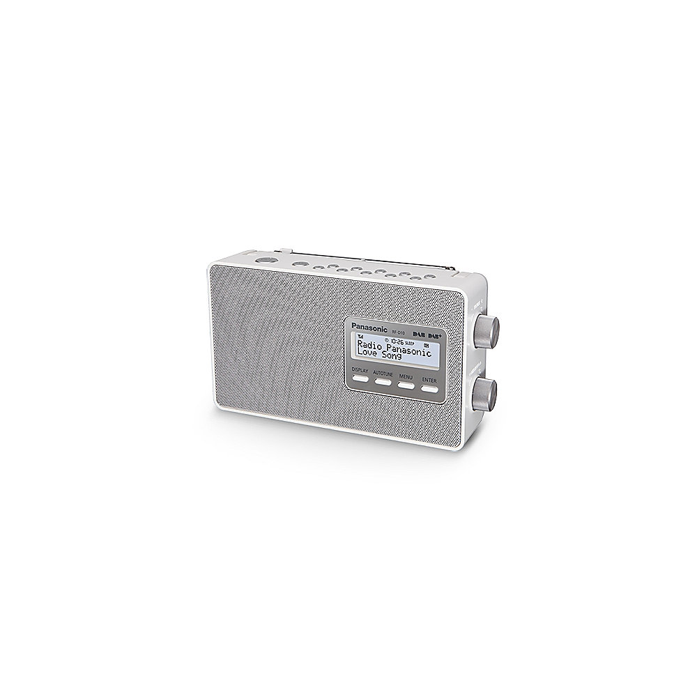 Panasonic RF-D10 Digital-Radio DAB+ weiß