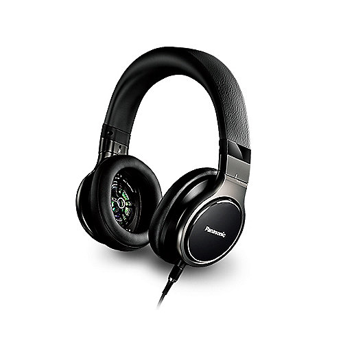 Panasonic RP-HD10 Over-Ear High-Resolution Kopfhörer Schwarz