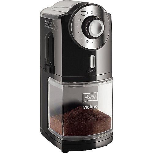 Melitta Molino 1019-02 Kaffeemühle 100 Watt schwarz | 4006508215188
