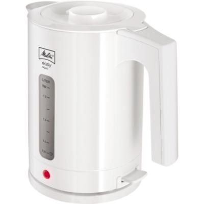Melitta  Easy Aqua 1016-01 Wasserkocher weiß 1,7 Liter | 4006508211418