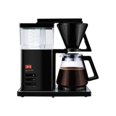 Melitta  Aroma Signature DeLuxe 100703 Kaffeemaschine Hochglanz Schwarz | 4006508209989