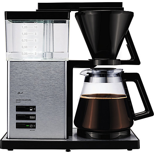 Melitta Aroma Signature DeLuxe 100702 Kaffeemaschine Silber | 4006508207497