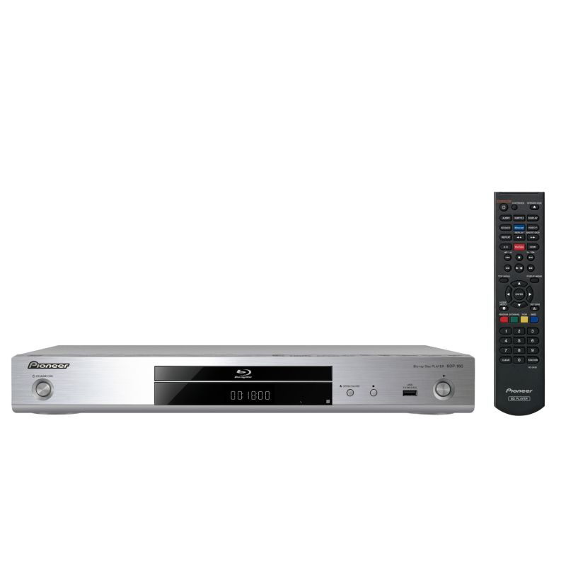 Pioneer BDP-180-S Silber 3D-Blu-ray Player WiFi HDMI DLNA 4k Scaler