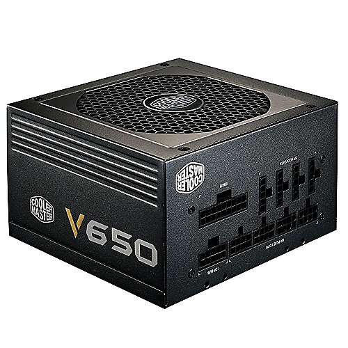 Cooler Master V-Series V650 650 Watt 80+ Gold vollmodular 120mm Lüfter
