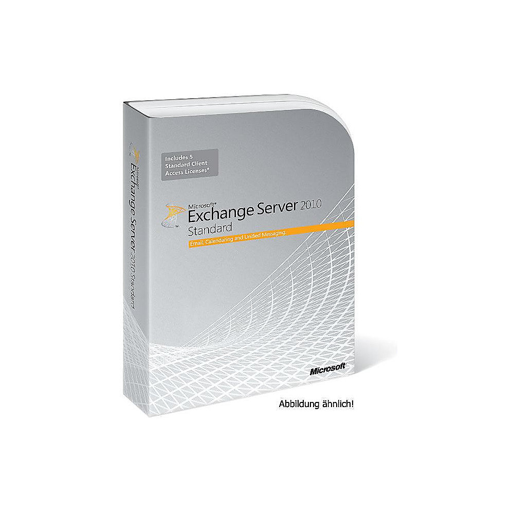 Microsoft Exchange Server 2010 Standard dt Win Open-NL