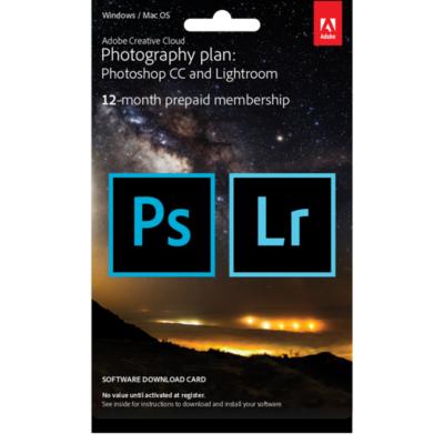 Adobe  Creative Cloud Foto-Abo (Lightroom and Photoshop) 20GB, ESD #Aktion | 8719172321470