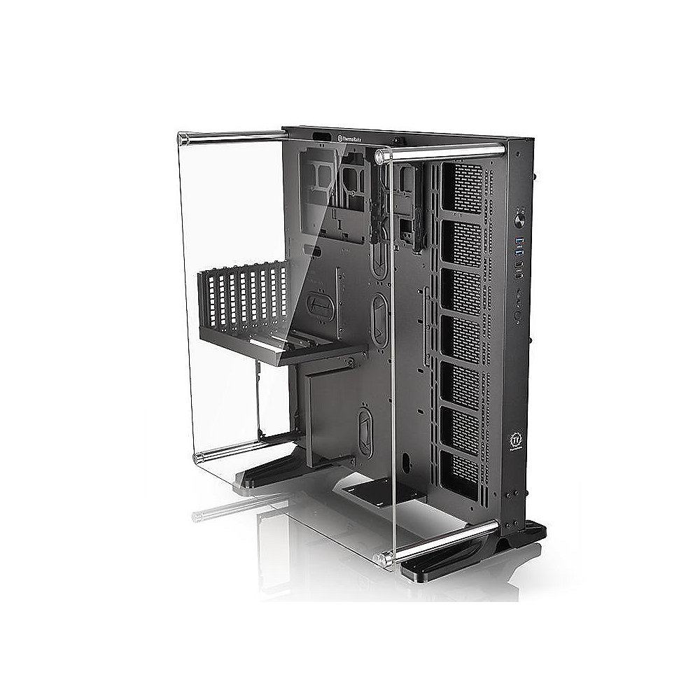 Thermaltake Core P5 Midi Tower ATX Design Gehäuse mit Panoramafenster