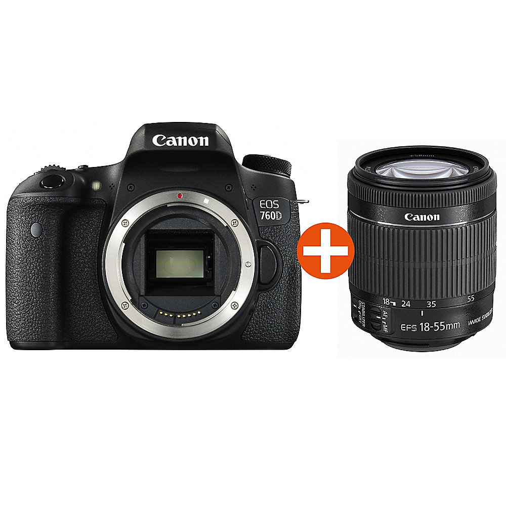 Canon EOS 760D Kit EF-S 18-55mm 3,5-5,6 IS STM