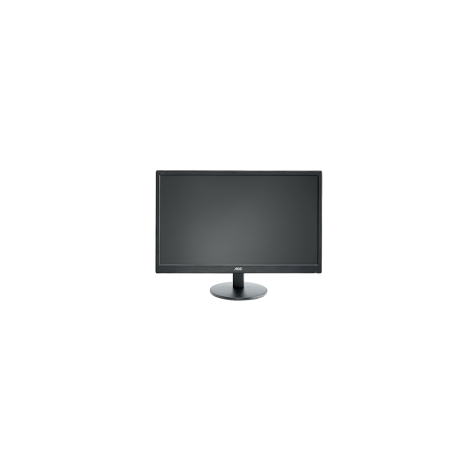 "AOC e2470Swh 59,9 cm (24"") 16:9 Full HD Monitor VGA/DVI/HDMI 1 ms 20Mio:1 LS"