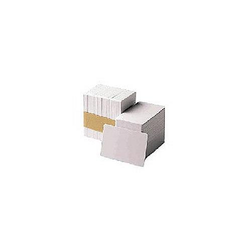 104523-111 500Stk. PVC-Karten weiß CR-80 30mil | 0760707028720