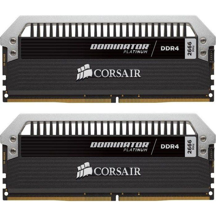 32GB (2x16GB) Corsair Dominator Platinum DDR4-3000 CL15 (15-17-17-35) DIMM-Kit