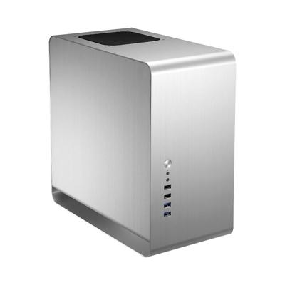Cooltek  Jonsbo UMX3 Midi Tower mATX Gehäuse, USB3.0, silber, ohne Netzteil | 4250140370600