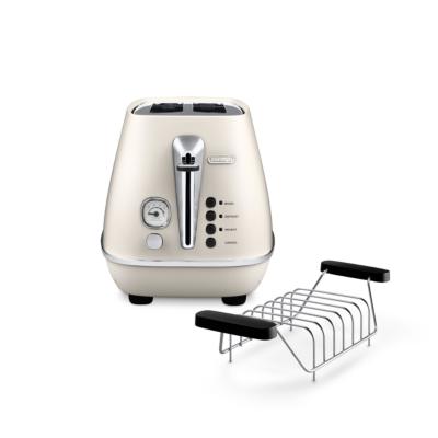 Delonghi  DISTINTA CTI 2103.W 2-Schlitz-Toaster Pure White   8004399761728