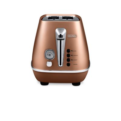 Delonghi  DISTINTA CTI 2103.CP 2-Schlitz-Toaster Style Copper   8004399761759