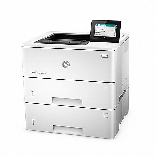 HP LaserJet Enterprise M506x S/W-Laserdrucker L...