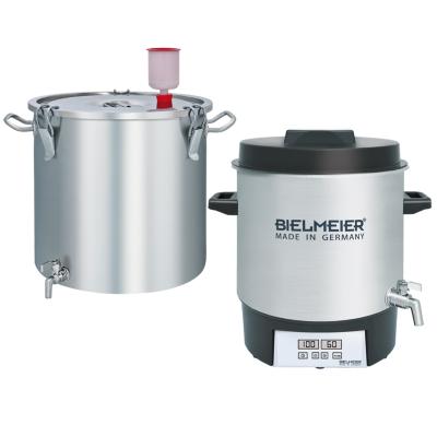 Bielmeier  BHG 403 Bierbrausystem 10-teiliges Set Edelstahl 27Liter   4035161403007