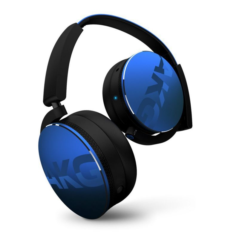 AKG Y 50BT Blue On Ear Kopfhörer mit Bluetooth - Blau