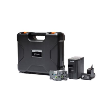 Brother  P-touchPT-P750TDI Beschriftungsgerät WLAN NFC inkl. Koffer und Akku | 4977766751469