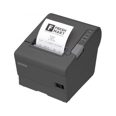 Epson  TM-T88V Quittungsdrucker monochrom USB seriell grau inkl. Netzteil Kabel | 8715946465784