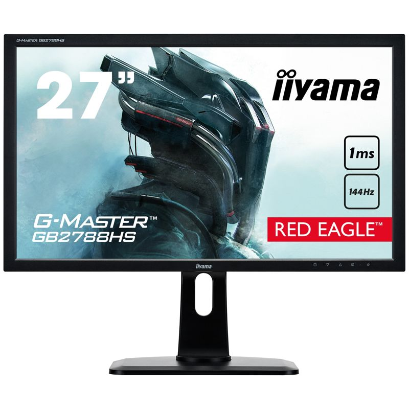 Iiyama G-Master GB2788HS-B1 Red Eagle Full-HD 16:9 1ms HDMI/DVI 144Hz Free-Sync