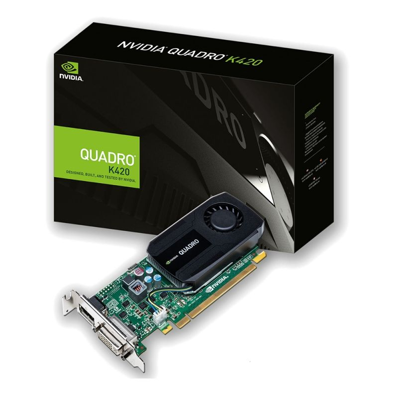 PNY Quadro K420 2GB GDDR3 PCIe DP/DVI - Retail Low Profile