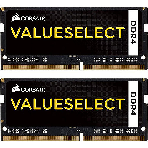 16GB (2x8GB) Corsair Value Select DDR4-2133 CL15 SO-DIMM RAM Kit