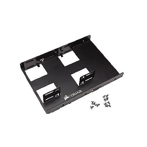 Corsair 3.5 Zoll Einbaurahmen für 2x 2,5 Zoll Festplatten/SSD | 0843591069076