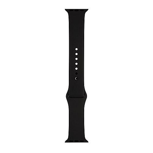 Apple Watch 42mm Sportarmband Schwarz mit Stiftschließe in Space Schwarz MJ4N2ZM