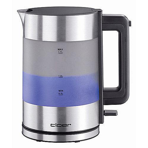 Cloer 4019 Wasserkocher Aluminium | 4004631002095