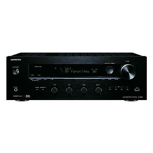 onkyo tx 8130 netzwerk stereo receiver 100w kanal dlna. Black Bedroom Furniture Sets. Home Design Ideas