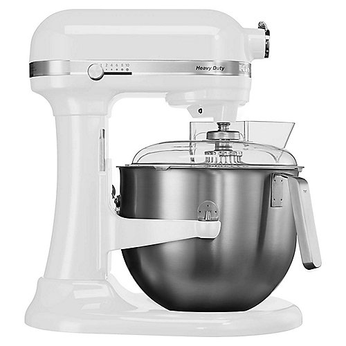 KitchenAid 5KSM7591XESM Heavy Duty Küchenmaschine 500W 6,9L silber metallic