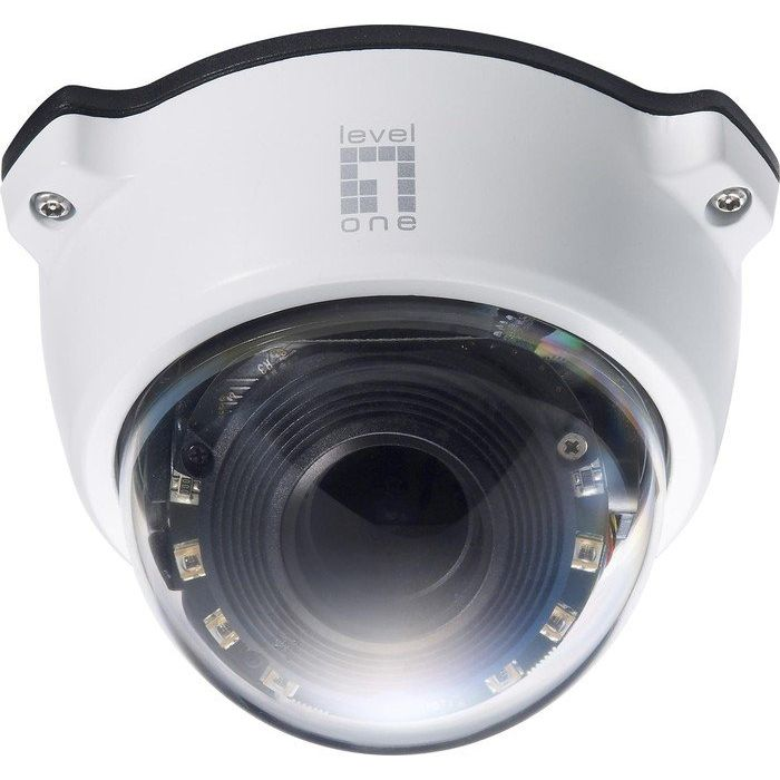 LevelOne FCS-4301 3-fach Zoom PTZ Dome Outdoor Kamera Tag&Nacht 2MP PoE