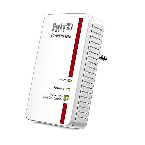 AVM FRITZ! Powerline 1240E Einzeladapter mit WLAN | 4023125027345