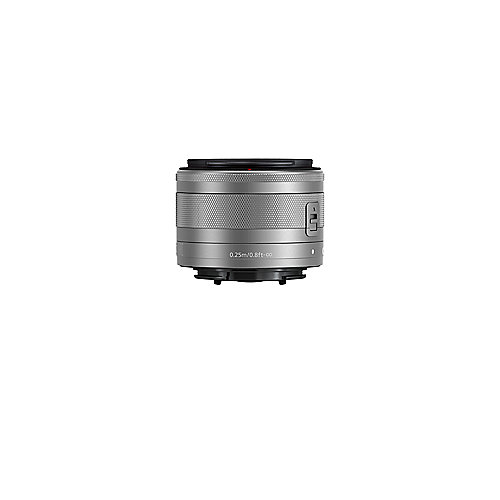 Canon EF-M 15-45mm f/3.5-6.3 IS STM Weitwinkel Zoom Objektiv silber