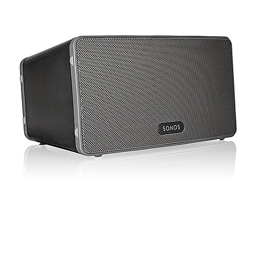 Sonos PLAY:3 schwarz Vielseitiger Multiroom Sma...