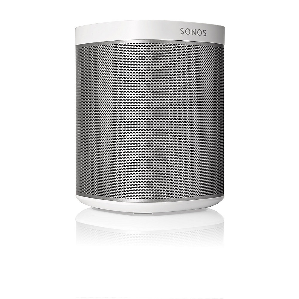.Sonos PLAY:1 weiß Kompakter Multiroom Smart Speaker für Music Streaming