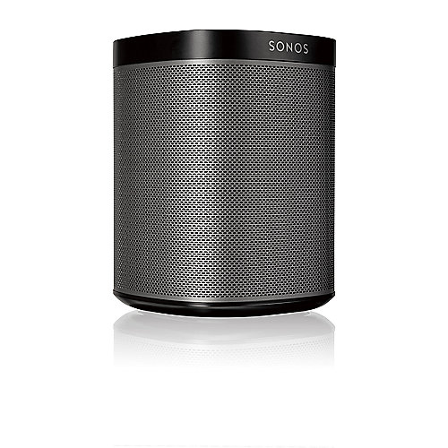 Sonos PLAY:1 schwarz Kompakter Multiroom Smart Speaker für Music Streaming