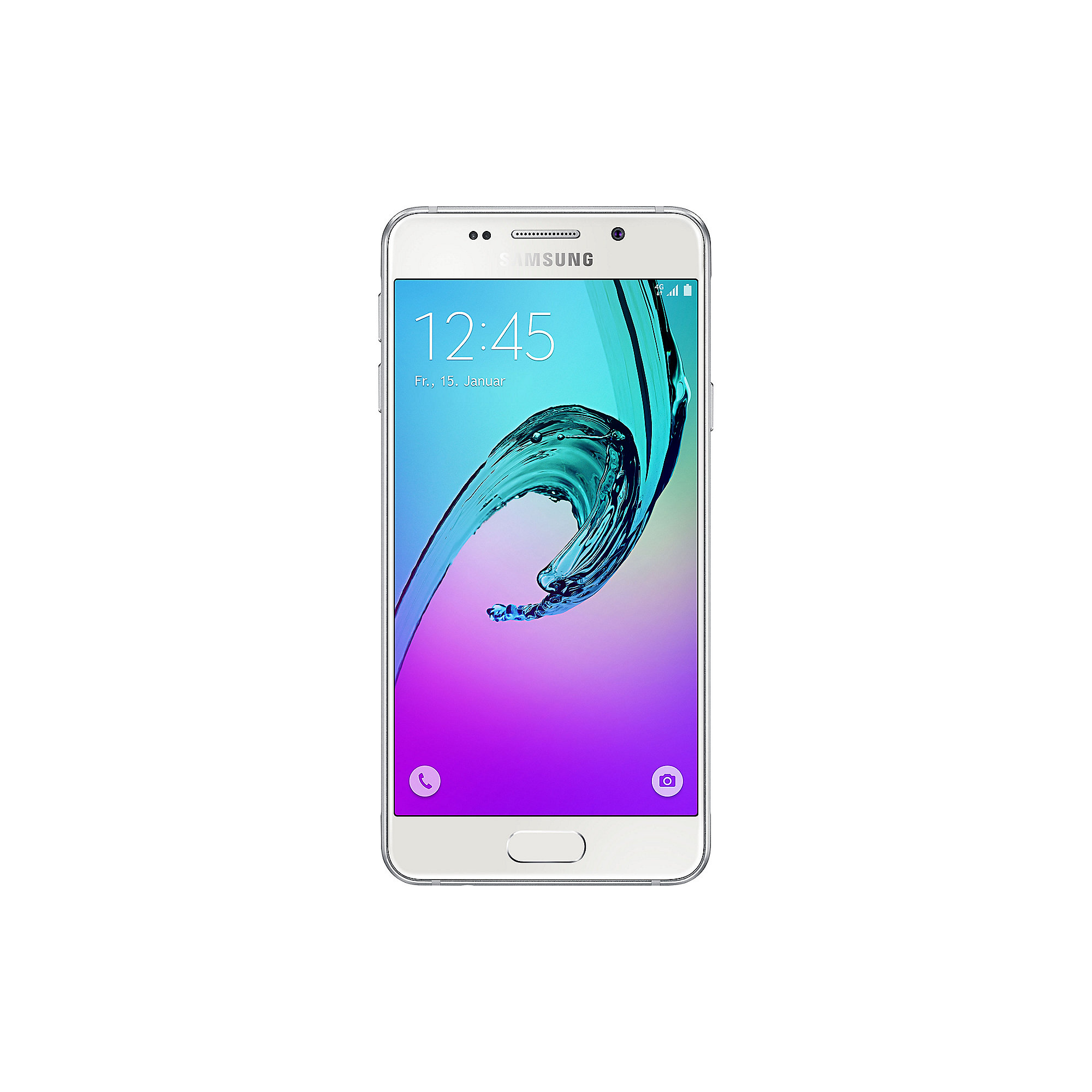 Samsung GALAXY A3 (2016) A310F white Android Smartphone weiß